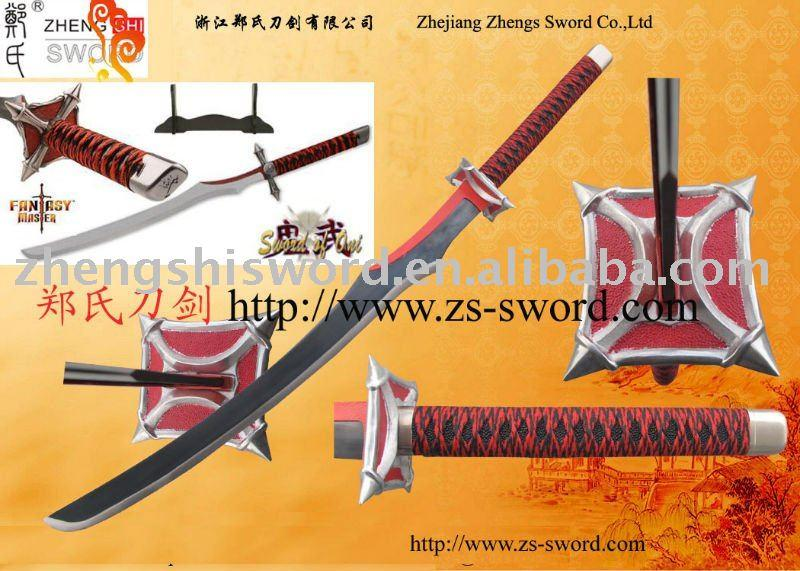 Cartoon Sword-Bleach New Oni Sword Katana