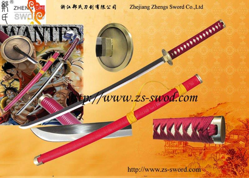 One Piece Sergeant Major Tashigi Shigure Anime Katana