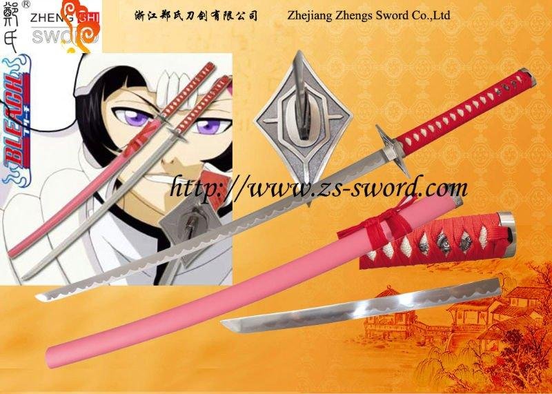 The Bleach Anime Trepadora Sword