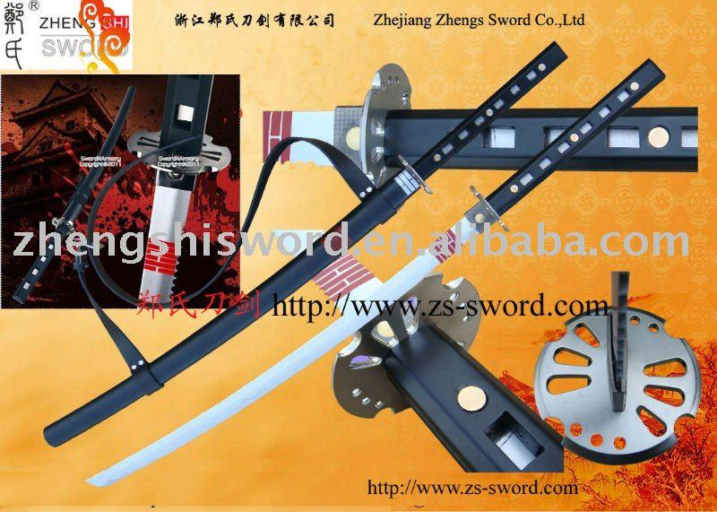Cartoon Sword-Cosplay Sword-Movie Storm Shadow Ninja Sword Snake Eyes Black Katana