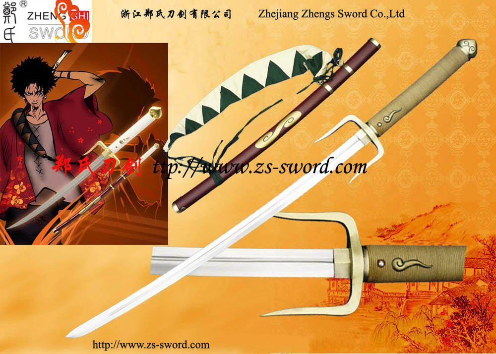 Cosplay Sword Samurai Champloo Mugen39;S Typhoon Swell Sword Gen Ii