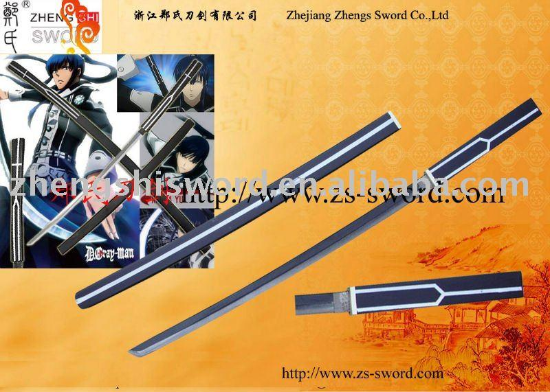 Cartoon Sword-Cosplay Sword-Gray-Man Yu Kanda Anime Mugen Sword