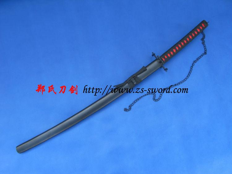 Anime Sword-Bleach Final Bleach Ichigo Shikai Cutting Moon Zangetsu Crescent Cupola Manga Sword