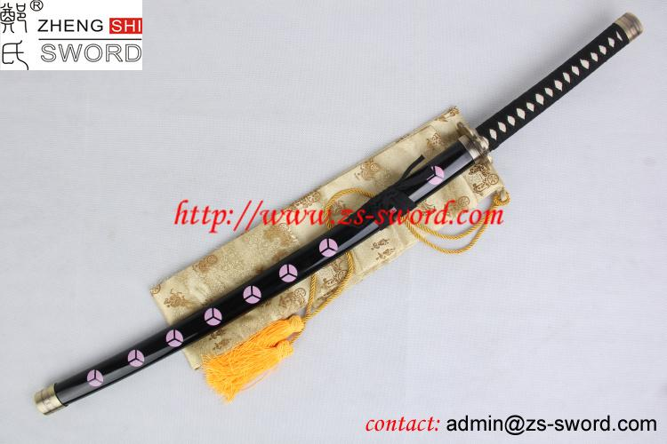 Cartoon And Anime Sword One Piece Roronoa Zoro Sword Black Eyes Anime And Cosplay Sword