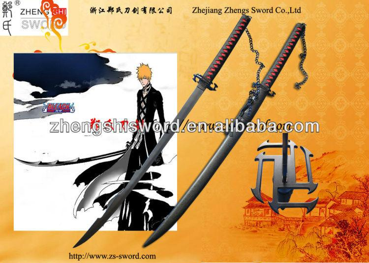 Cartoon Sword-Bleach 28 Last Bleach Bankai Cutting Moon Sword