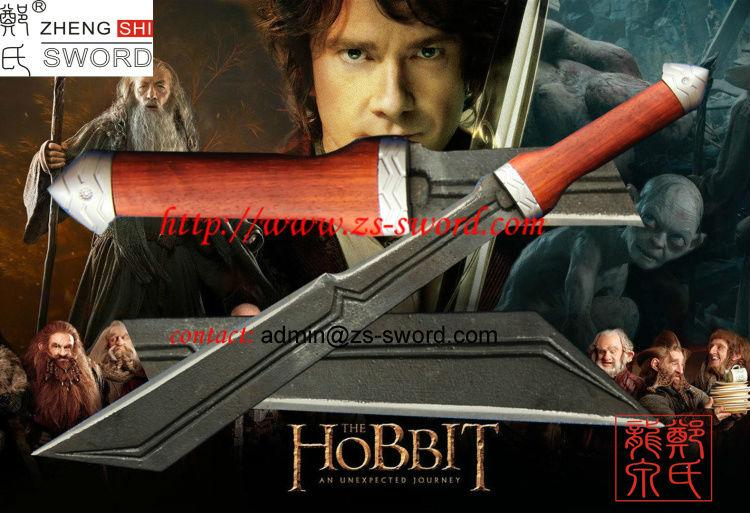 The Hobbit Movie Twice Sword Fantasy Sword Cartoon And Movie Sword Historic Sword