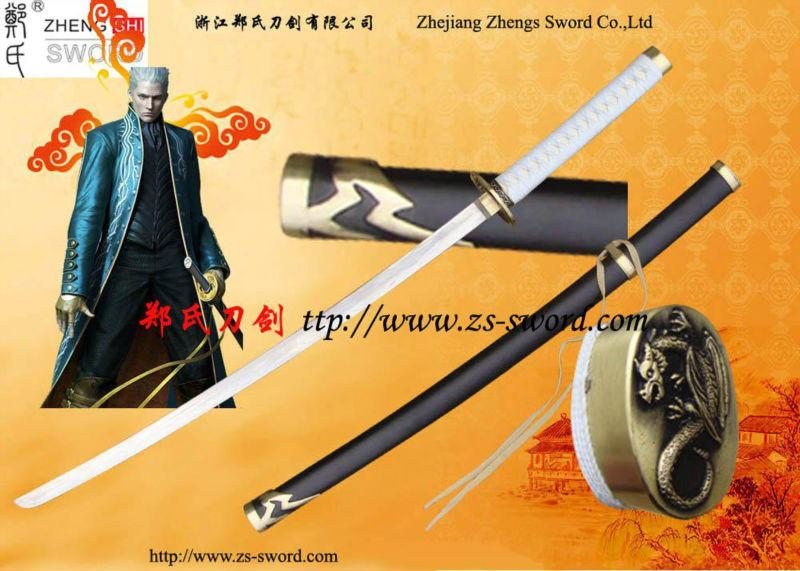 Cosplay Anime Metal Blade Sword Quot;Devil May Cry Vergil Yamato