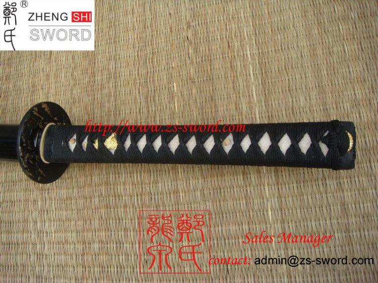 Traditional Handforged Samurai Sword With Razor Sharp Blade