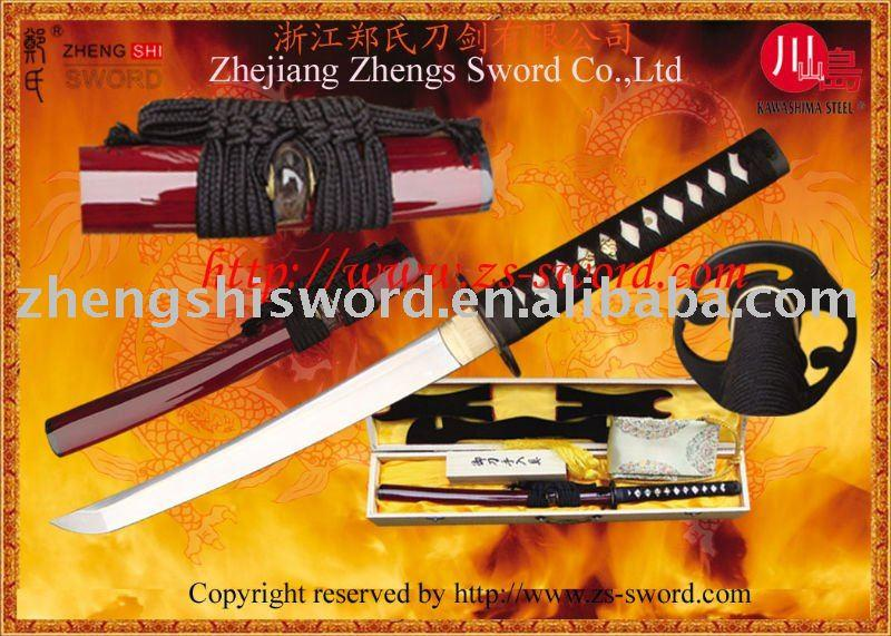 Handmade Clay-Tempered Samurai Sword Tanto